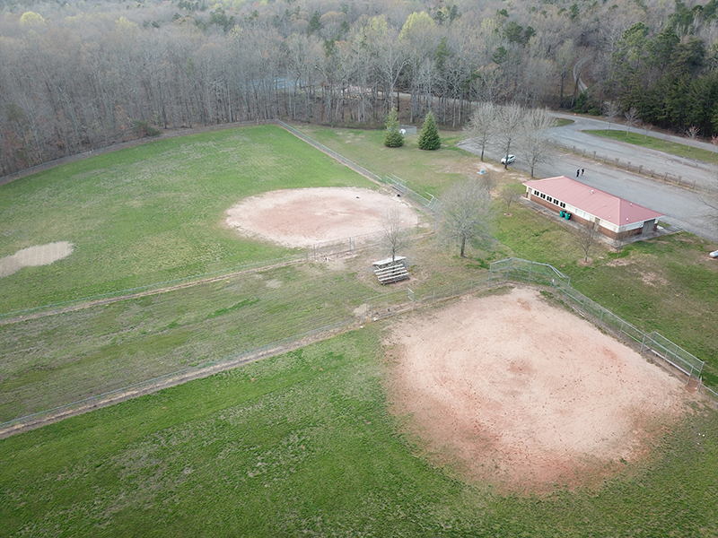 Another view of the baseball fields